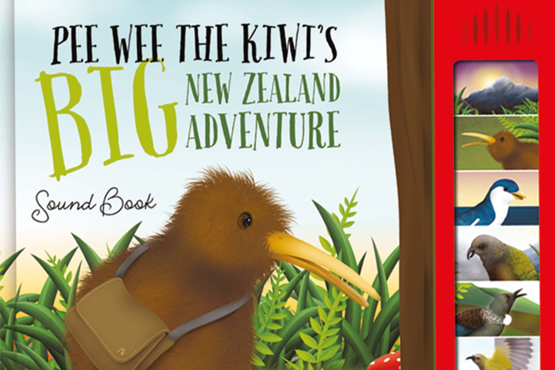 Pee Wee the Kiwi's Big New Zealand Adventure – Sound Book